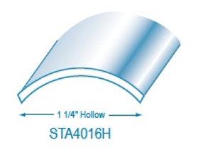 "STA4016HI: 1 1/4"" Hollow Stainless Steel Trim"