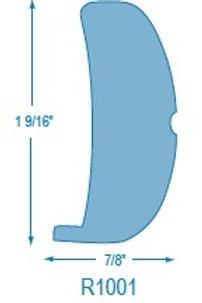 R1001 Rigid Solid Rubrail