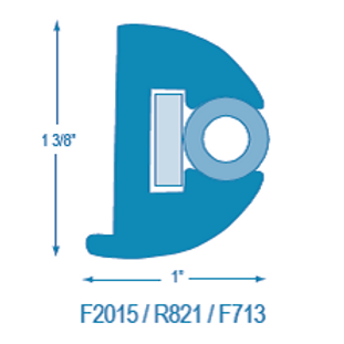 F2015 / R821 Flexible RR with Stiffener (takes F713 Insert)