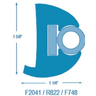 F2041 / R822 Rigid RR with Stiffener (takes F748 Insert)