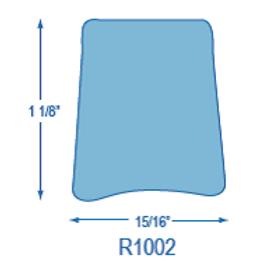 R1002 Rigid Toe Rail