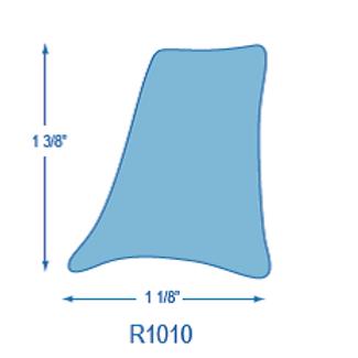 R1010 Rigid Toe Rail