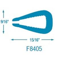 F8405 Flexible U Molding