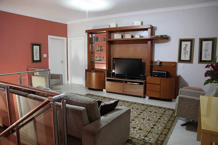 Sala de TV no andar dos quartos