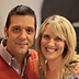 Shannon Moroney with George Stroumboulopoulos