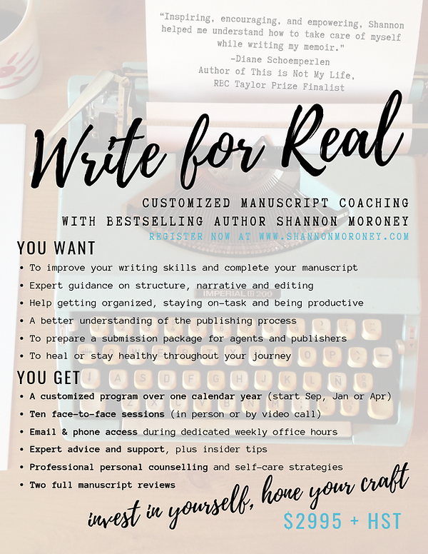 Write for Real Poster