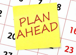 Start Planning Early!