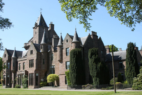 Clubhouse in Scotland
