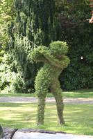 Clubhouse Golf garden