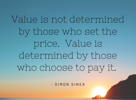 Our Worth & Value matters...