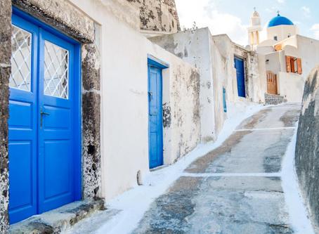 Your romantic escape to Greece.