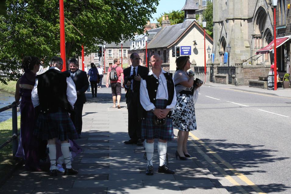 Love the Scottish Wedding