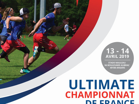 Angers accueille la phase finale du Championnat de France Mixte d'Ultimate Frisbee