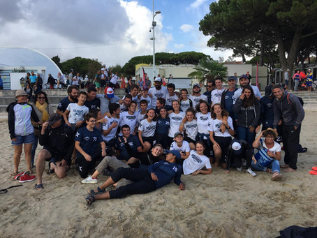 Les Magic Disc s'inclinent en finale du Championnat de France de Beach Ultimate