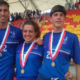 Laura Vinot et Hugo Herbin champions d'Europe d'Ultimate Frisbee !