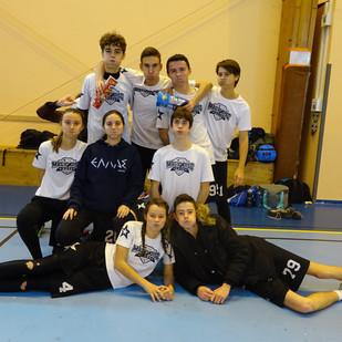 Angers à la deuxième place du Championnat Régional Atlantique Indoor U20 Open