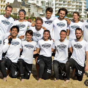 Championnat de France Mixte de Beach Ultimate : Les Magic Disc relégués en Nationale 2.