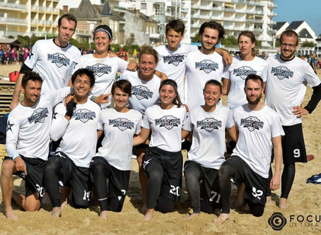 Championnat de France Mixte de Beach Ultimate : Les Magic Disc relégués en Nationale 2.