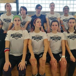 L'équipe féminine des Magic Disc remporte la Division Challenger du Championnat de France Indoor