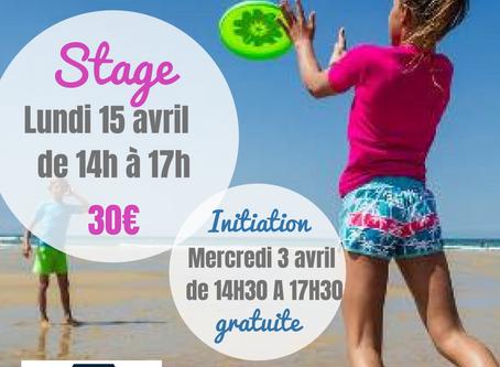 Initiation et stage d'Ultimate Frisbee au Décathlon d'Angers/Les Ponts de Cé !