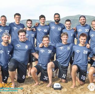 EBUCC 2018 : l'Ultimate Frisbee angevin à la sixième place européenne !