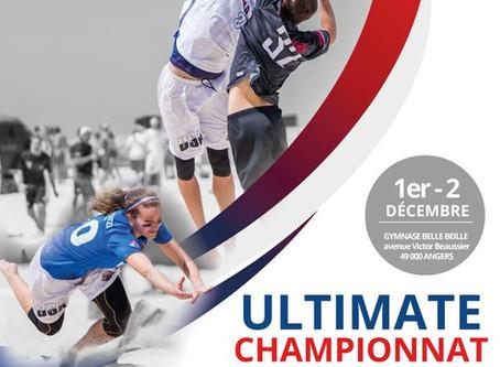 Angers accueille le Championnat de France Indoor Féminin d'Ultimate Frisbee