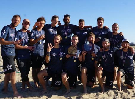 L'équipe masculine Magic Championne de France de Beach Ultimate pour la quatrième fois consécutive !