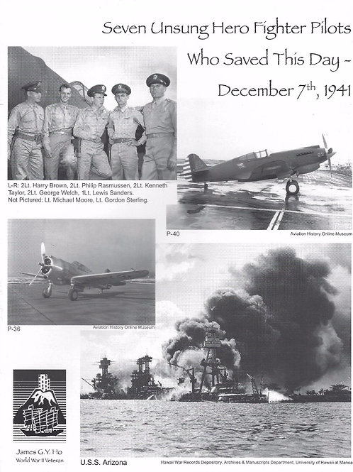 Seven Unsung Hero Fighter Pilots Who Saved This Day- December 7th 1941