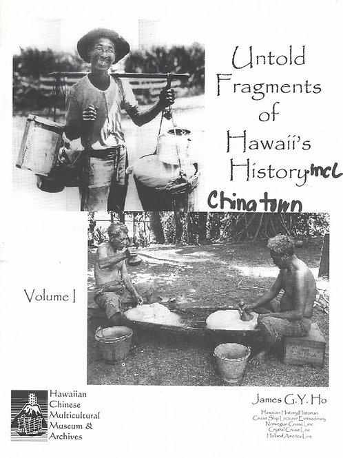 Untold Fragments of Hawaii's History