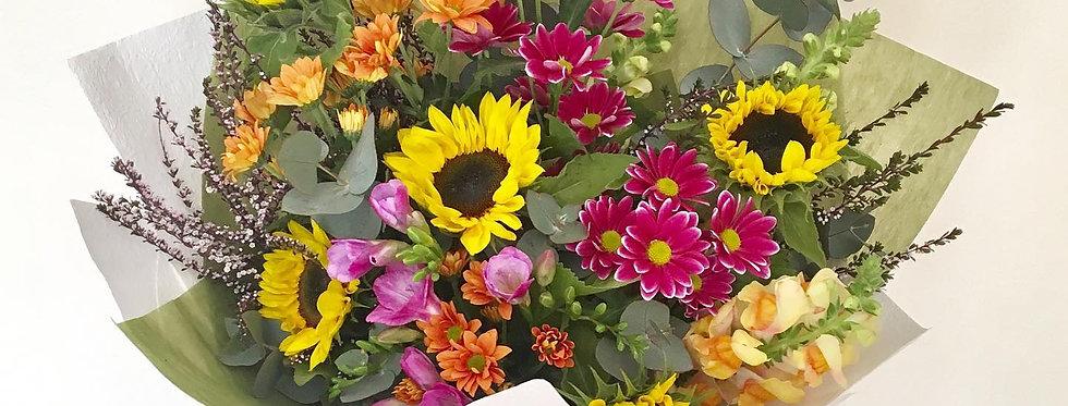 Vibrant Colour Bouquet