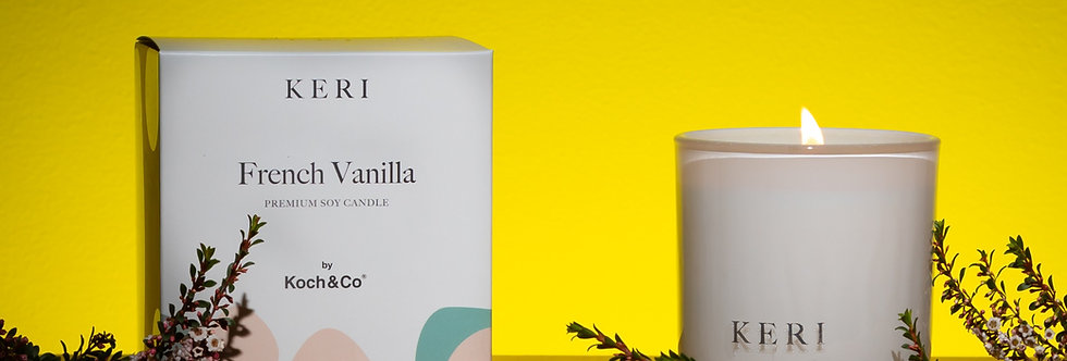 Keri - French Vanilla - Premium Soy Candle
