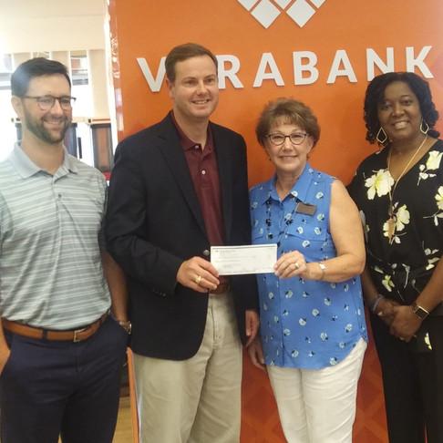Verabank and Commercial Bank sponsor the BIG CHECKS