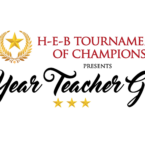 HEB Tournament of Champions presents First Year Teacher Grants