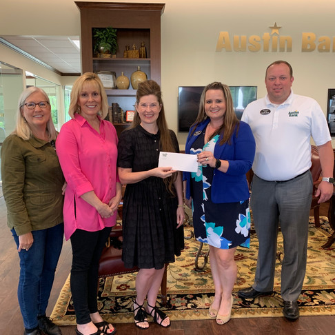 Thank you, Austin Bank for sponsoring First Year Teacher Grants