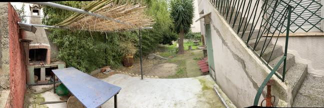 Arrière jardin