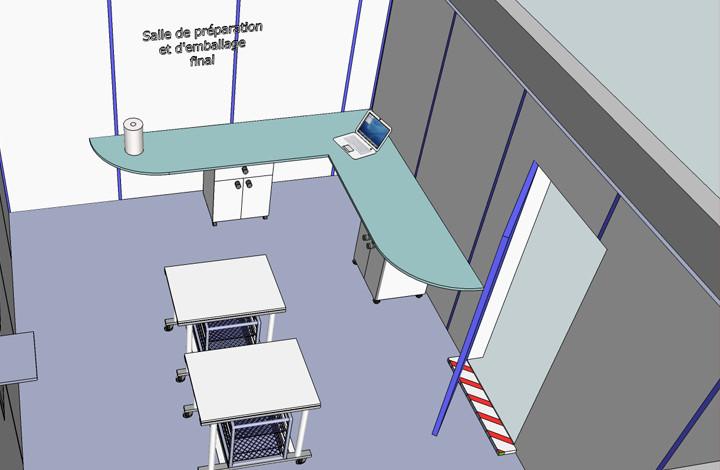 Sterilisation - salle preparation & emba