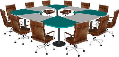 Table 12 stations Direction vue de quard