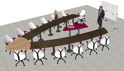 Table reunion 5250 x 3850 F311 et erable