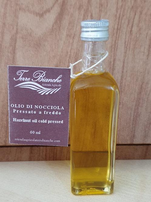 Olio 100% Nocciole Piemonte IGP 60 ml.