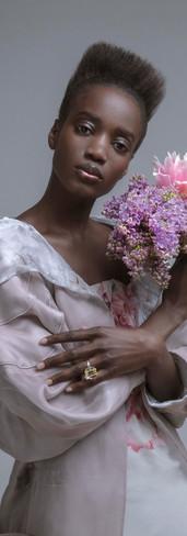 posh n84 flower artist gio ratti - armani- photo yuri catania