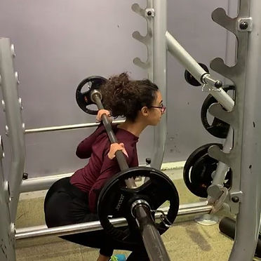 Christina wanted to improve strength, to