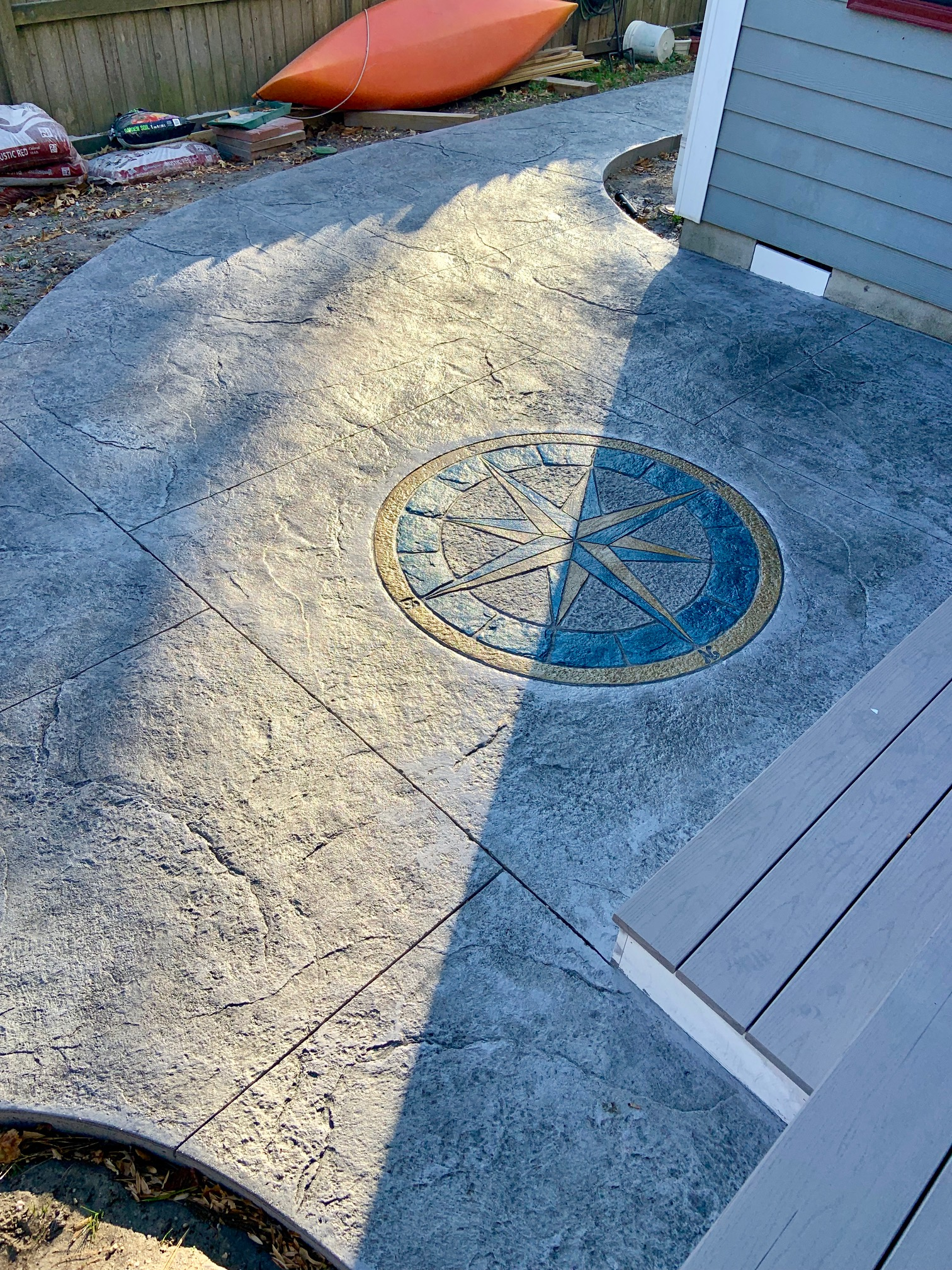 Stamped Concrete Patio Milton DE