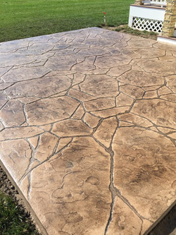 Stamped Concrete Patio