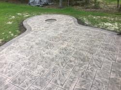 Stamped Concrete Patio Lewes DE