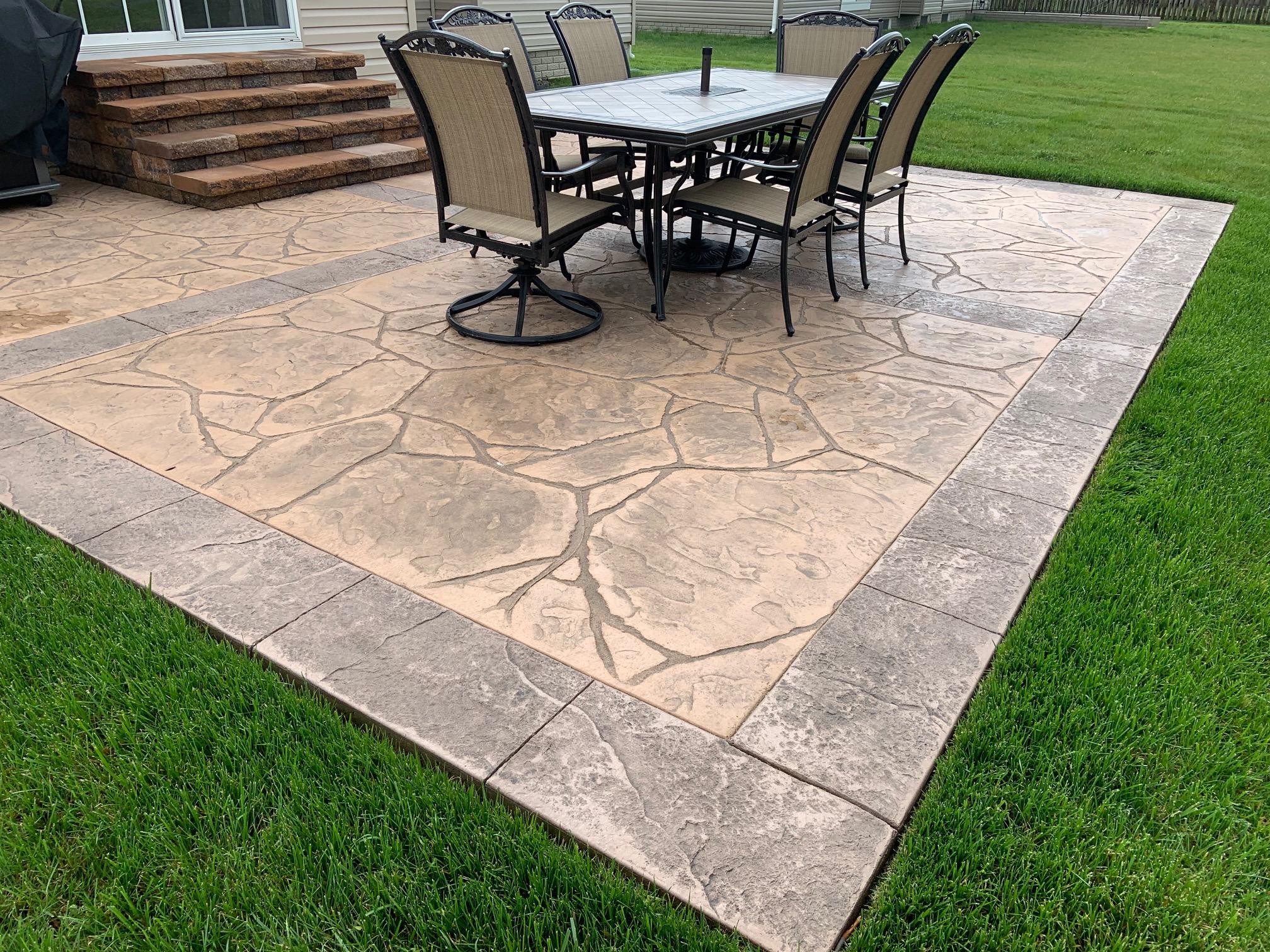 Stamped Concrete Felton