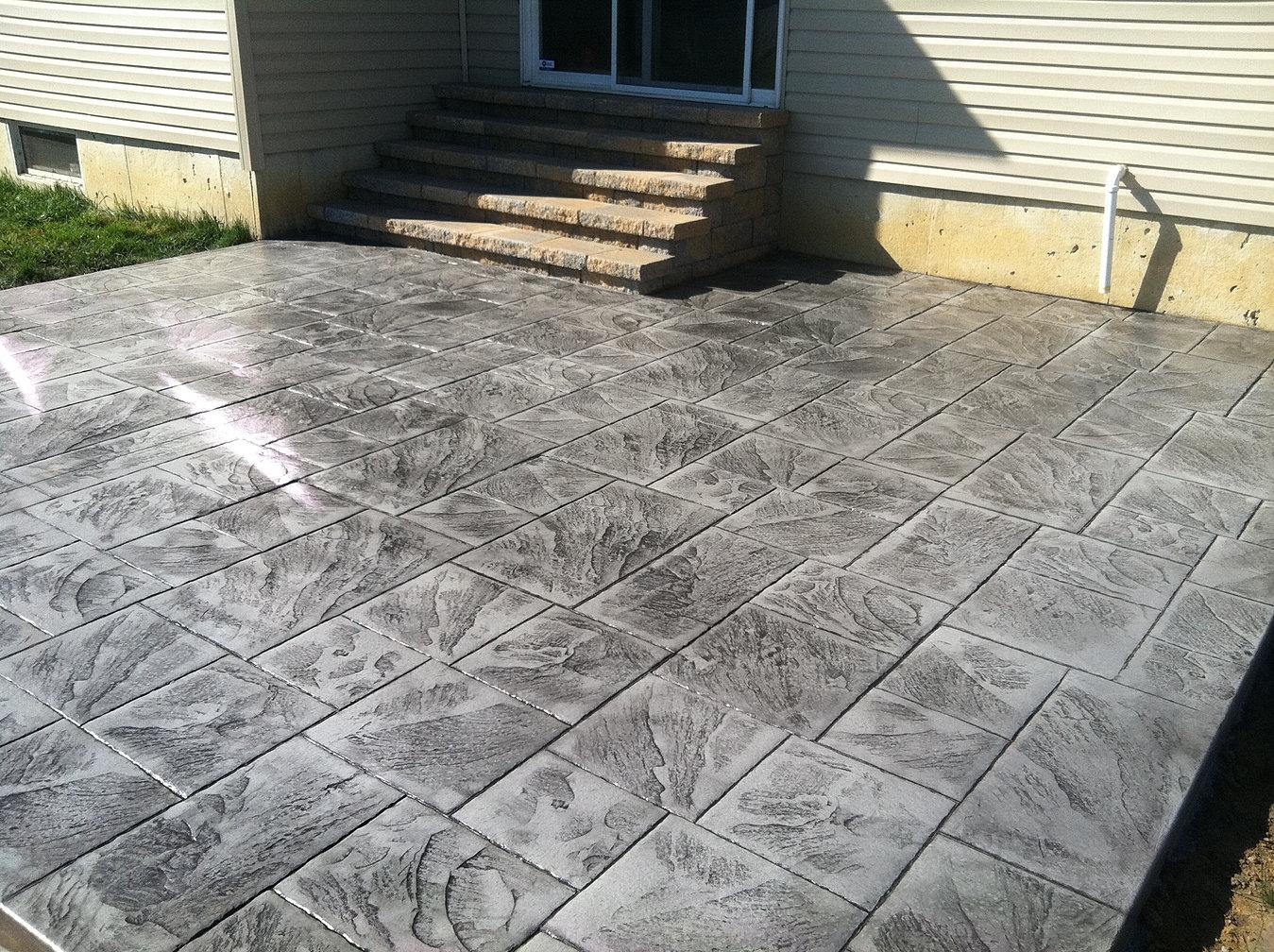 Stamped Concrete Delaware Stamped Concrete Patios De
