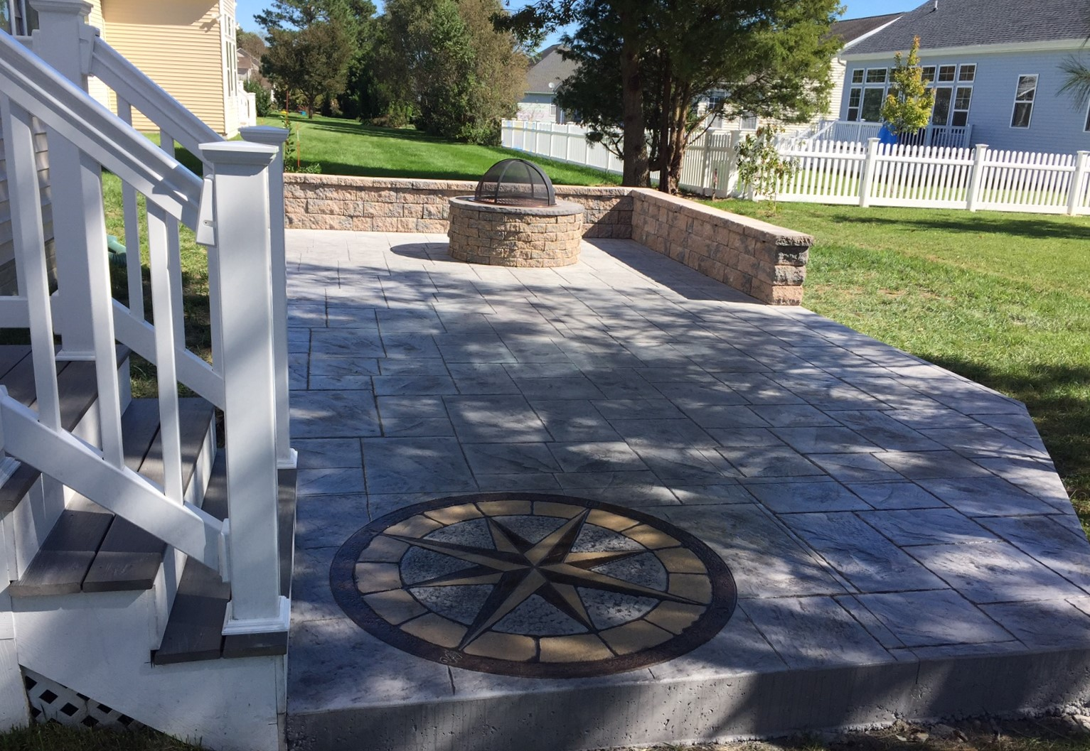Stamped Concrete Patio Milton, DE