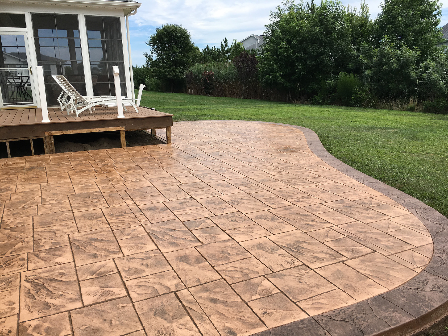 Stamped Concrete Patio Selbyville DE