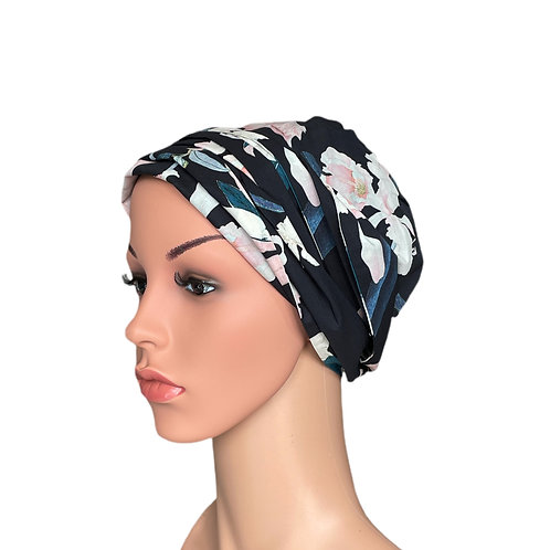Callie Chemo Turban/Easy Tie Head Scarf For Cancer Patients