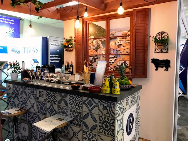 Rushton exhibition stand design